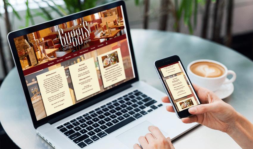 Homepage Guggis Coffee & Wine