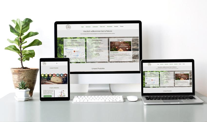 Homepage La Natura