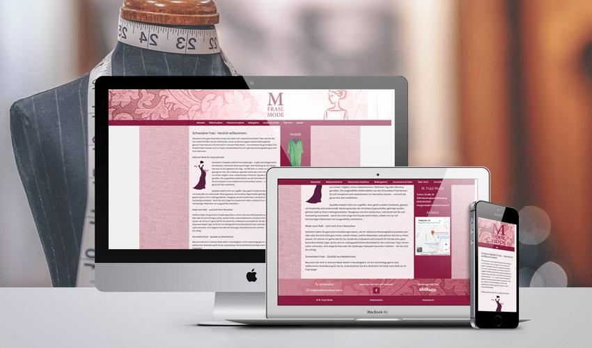 Homepage M. Frasl Mode