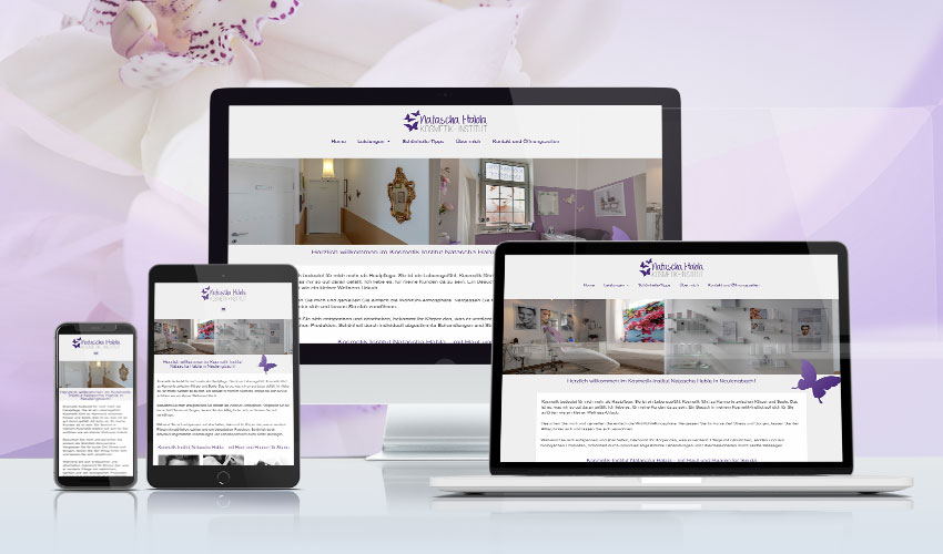 Website Kosmetik-Institut Natascha Habla