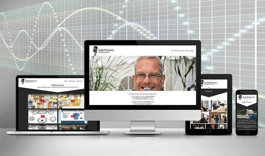 Homepage Rudolf Schwarz - Vorschaubild