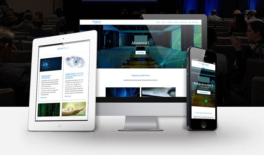 Website Akademie3