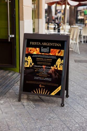Plakat Fiesta Argentina