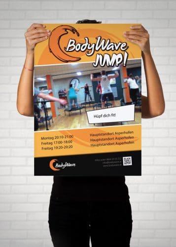 Plakat BodyWave Jump