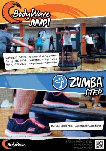 Plakat Zumba Step