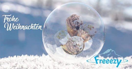 Weihnachtsbild Freeezy