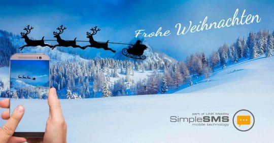 SimpleSMS Weihnachtsbild