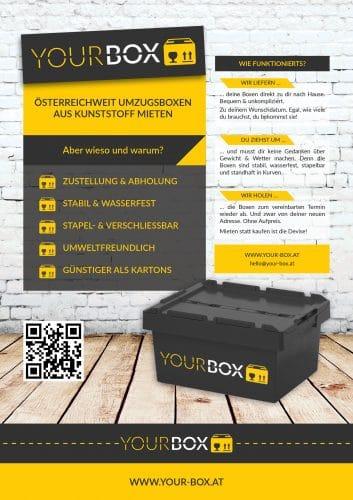 Plakat YOUR BOX