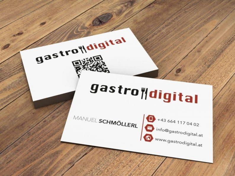 Visitenkarte Gastrodigital.at